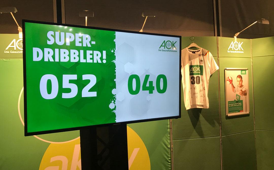 Speed-Dribbler_Laenderspiel