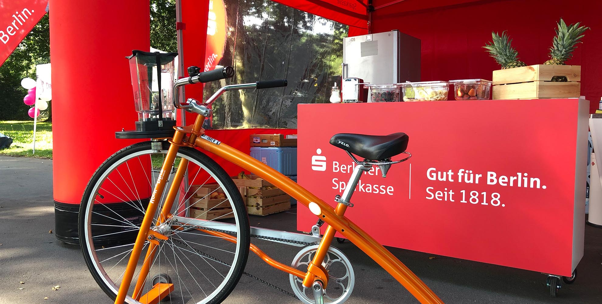 Smoothie-bike-Sparkasse